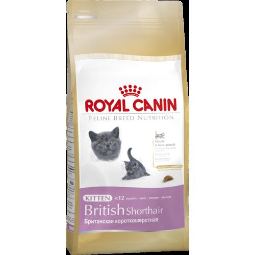 Royal Canin Kitten British Shorthair 2 кг