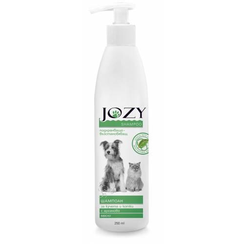 JOZY подхранващо-възстановяващ шампоан с арганово масло за кучета и котки