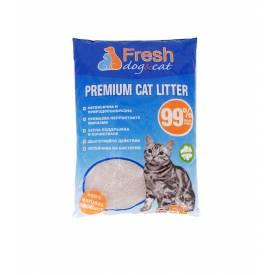 Бенто Fresh Cat КАФЕ пълнител за котешка тоалетна