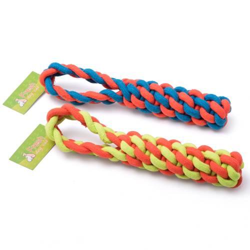 Оплетено алпийско въже с плетена дръжка 30 см