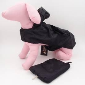 Дъждобран шушляк, с качулка и джоб за куче