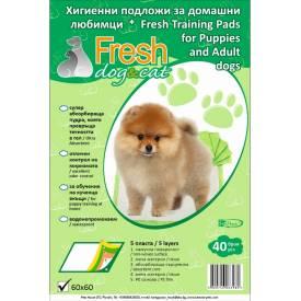 FRESH Classic Хигиенни подложки 60х60 см